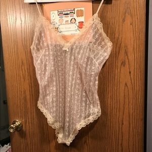 Sexy sheer Bodysuit sleepwear